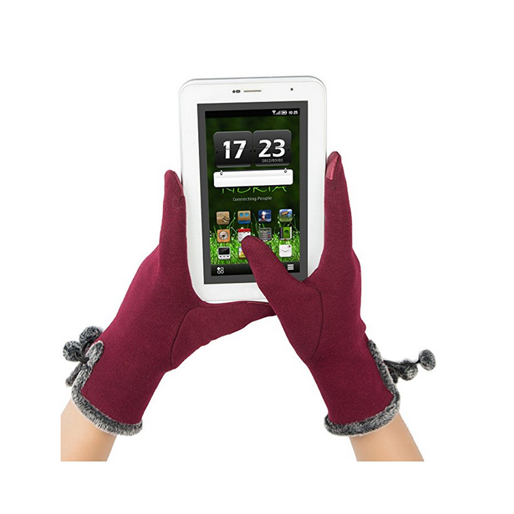 printing logo Touch Screen Gloves