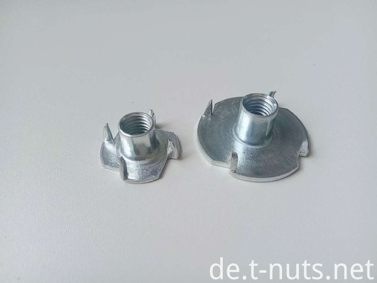 M8 Large flange Disc Custom style Tee nuts