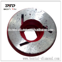 Diamond abrasive wheel for edging and chamfering grinding