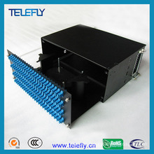 4u 96 Ports 19 Inch Fiber Patch Panel with Sc Adapters