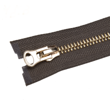 High Quality Polished Brass Teeth Metal Zipper