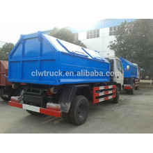 2015 Dongfeng hydraulic arm garbage truck,3-4m3 garbage containers for sale