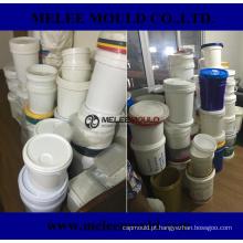 Molde plástico do recipiente do balde da pintura