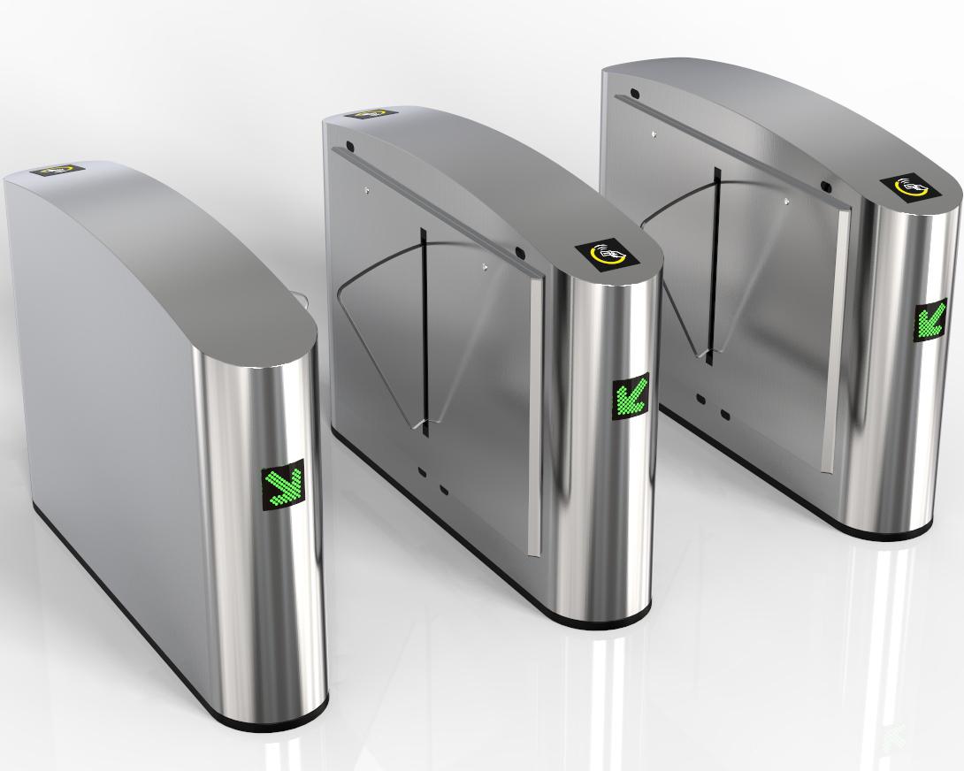 ZC-Y110 Flap turnstile gate