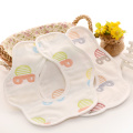 Baberos suaves del pañuelo Baberos a granel del bebé Baberos Drool