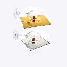 OLEG wholesale cutting custom gold silver mirror plexiglass sheet