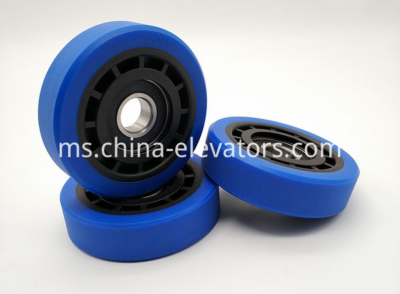 Step Roller for Schindler Heavy Duty Escalators 100*25*6204