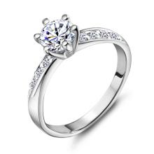 0.5CT Anneau de diamant simulé pour femmes Wx-Ri0048
