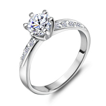 0.5CT Simulated Diamond Ring for Women Wx-Ri0048