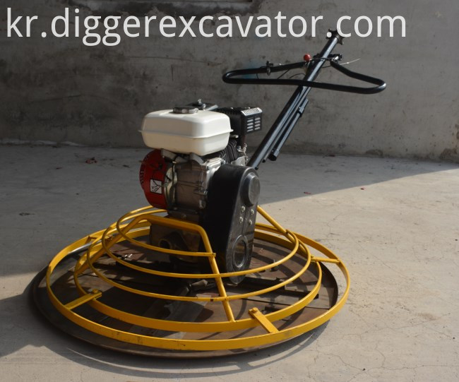 Mini Concrete Kipper Finisher Diesel Power Trowel Price