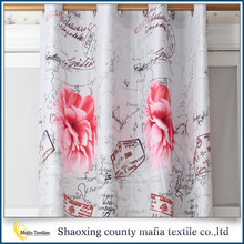 Trade Assurance China supplier Elegant Printing european style window curtains