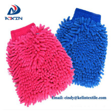 Best auto chenille microfiber car cleaning gloves/cloth