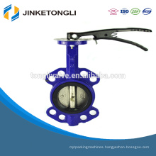PN16 Handle Manual Wafer Center Butterfly Valve JKTL BT032L