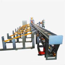 Línea de producción de corte de barras de refuerzo hidráulico de alto rendimiento