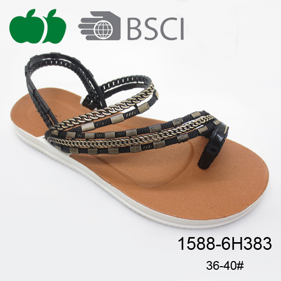 elegant beautiful lady sandal