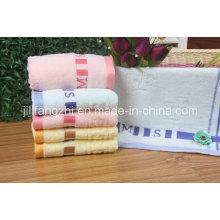 Vente en gros plaine teinte couleur douce 100 % coton serviettes