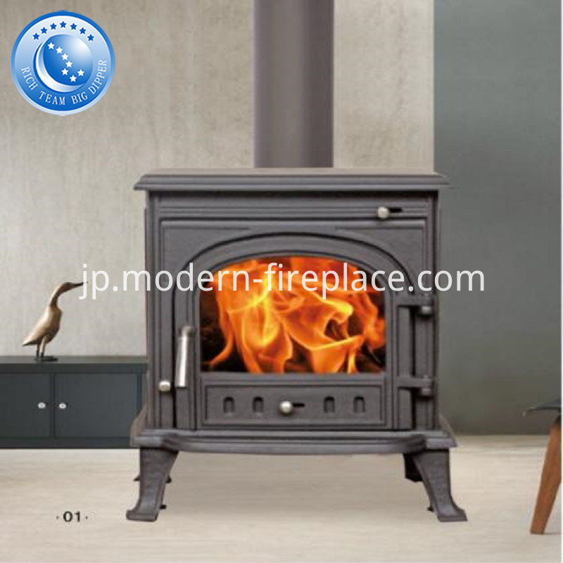 Cast Iron Wood Burning Stoves Installation