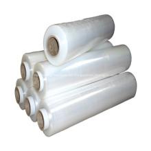 Rollo de film estirable retráctil de poliolefina moldeada