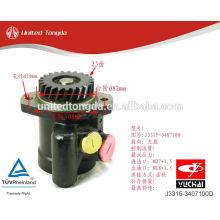 YUCHAI motor YC6J bomba de direção hidráulica J3315-3407100D