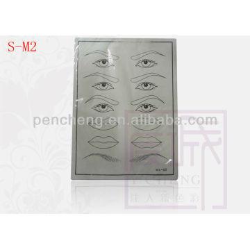 Fausse lèvre et broweye pour maquillage permanent tatouage pratique skim