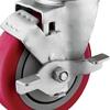 Tread Brake for Medium Duty Plate Casters