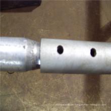 ERW geschweißte verzinkte Stahlzaunrohr