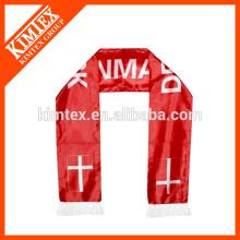Achat en gros écharpes en polyester pour fan de football