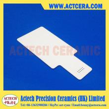 Isolação Elétrica Al2O3 Alumina Ceramic Sheet / Substrate