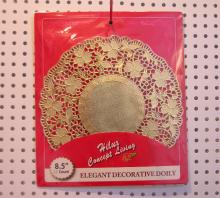 lá mỏng 8,5 inch vàng vòng vải lau tay