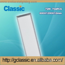 good price Recessed Aluminium Rectangular led light panel