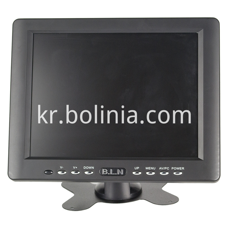 B8007 Bolinia 8 inch monitor front view