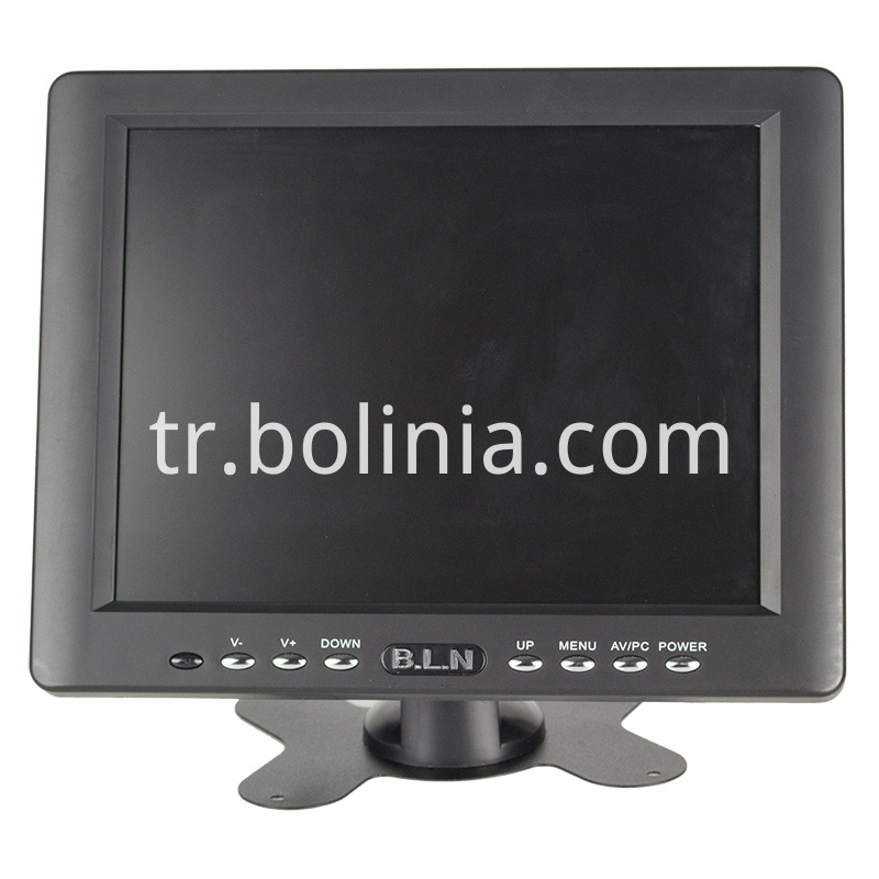Bolinia monitor with 8 inch screen