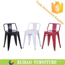 Klassische elegante Weinlese-Metallgarten-Stühle für Garten