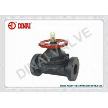 Large Size Pvc Diaphragm Valve For Water Treatment, Chemical Piping System