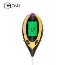 Medidor digital de umidade de pH do solo 4 em 1