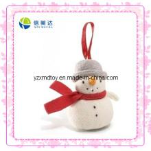 Brinquedo engraçado do boneco de neve do Natal branco (XDT-0038Q)