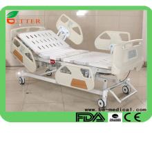 Five Funtion lit d'hôpital électrique Deluxe lits médicaux ICU