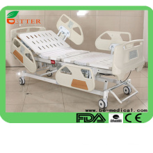 Five Funtion Electric Hospital Bed Deluxe Medical ICU beds