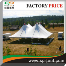 Cheap 300 Persons Commercial Grade White Canopy Tent With High Duty Top Excellent protection from Rain