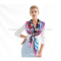 Pure china silk fabric hand roll designer scarf wholesale china lady's fashionable scarf