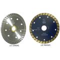 Lâmina de serra de diamante Turbo série relâmpago (Turbo contínuo)