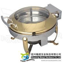 Golden Mini Hook Feet Electric Нагревательная тарелка для переноски