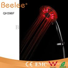 3 Funciones ABS Ducha de manija de lluvia LED de plástico autoalimentado