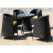 Outdoor Garden Furniture, Wicker Dining Set (DS-06001)