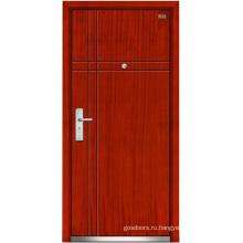 Стальные деревянные двери (LT-102)