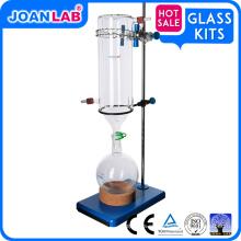JOAN LAB 24/40 Glass Jacketed Ice Cold Trap de doble capa de laboratorio de química de vidrio