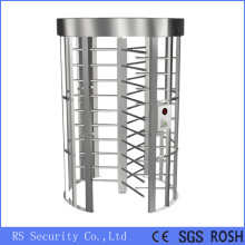 Stainless Steel Card Reader Security Turnstile Gate