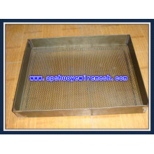 China Fornecimento de Fábrica SUS316 / Metal Perfurado de Alumínio