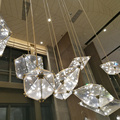 Hotel lobby decorative custom modern luxury pendant light