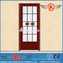 JK-AW9011 porte vitrée en verre à l'eau / cadre de porte